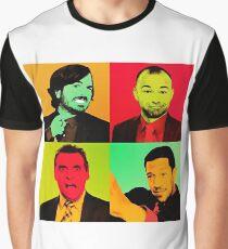 Impractical Jokers Pop Art Graphic T-Shirt