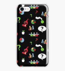 Science is fun Pattern iPhone Case/Skin