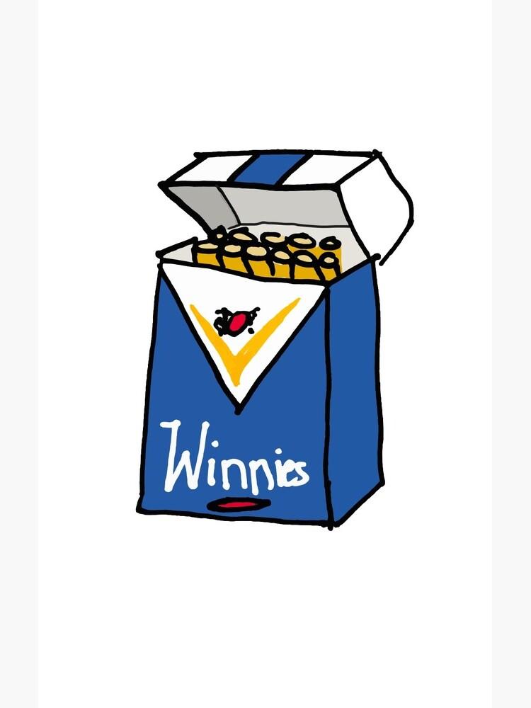 Winnie Blues by strayastickers