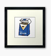 Winnie Blues Framed Print