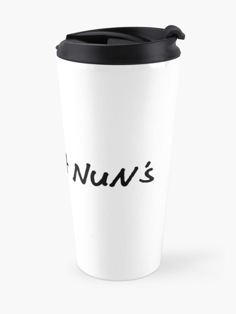 Alternate view of Dry as a nun's Travel Mug