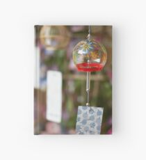 Wind Chime Hardcover Journal