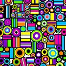 Licorice Allsorts I [iPad / Phone cases / Prints / Clothing / Decor] by Damienne Bingham