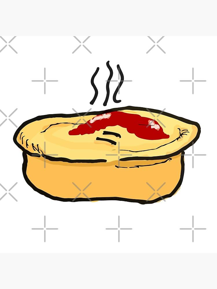 Meat Pie by strayastickers