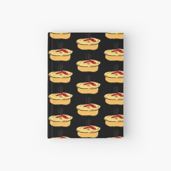Meat Pie Hardcover Journal