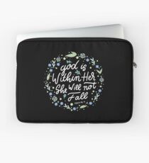 Christian Quote Laptop Sleeve