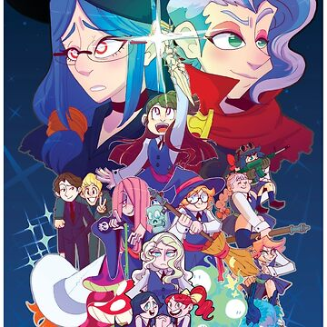 Little Witch Academia  by stevetwisp