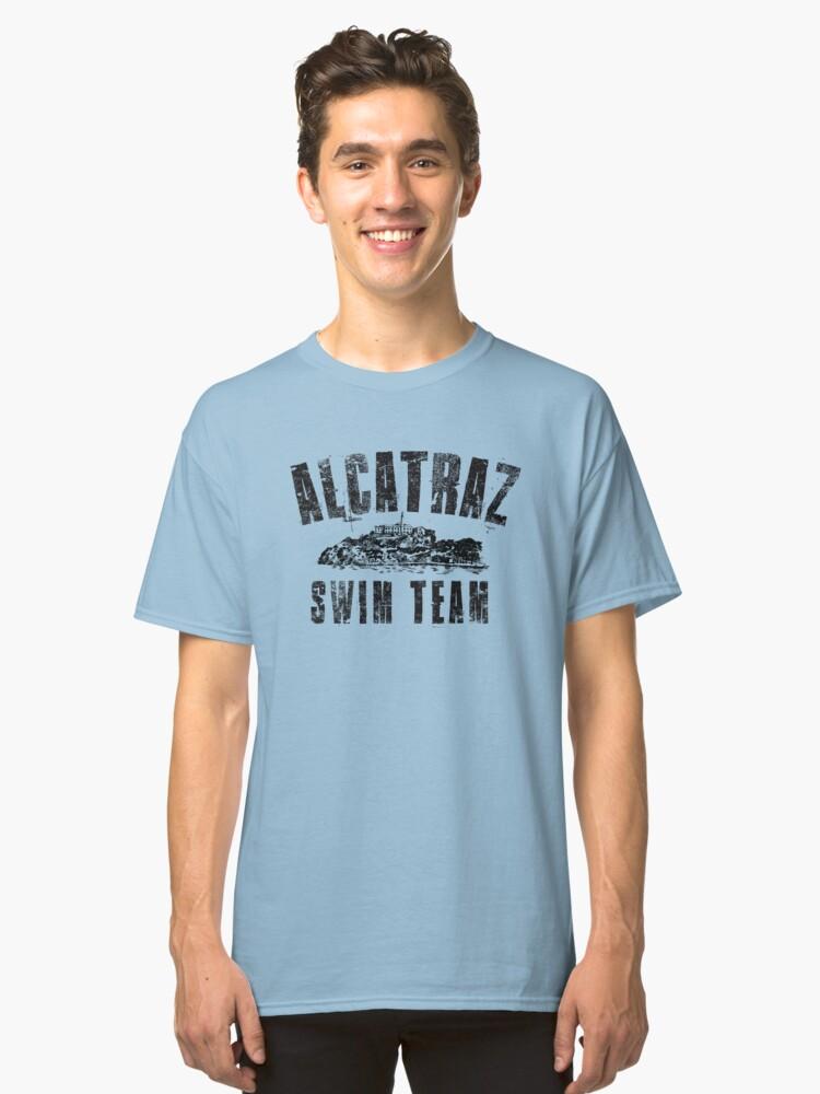 Alcatraz Swim Team Classic T-Shirt Front