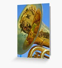Magic of reflections  Greeting Card