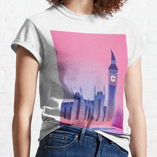 London Big Ben UK Classic T-Shirt