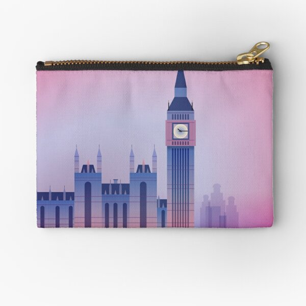 London Big Ben UK Zipper Pouch