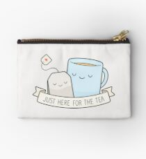 Just Here For The Tea Zipper Pouch