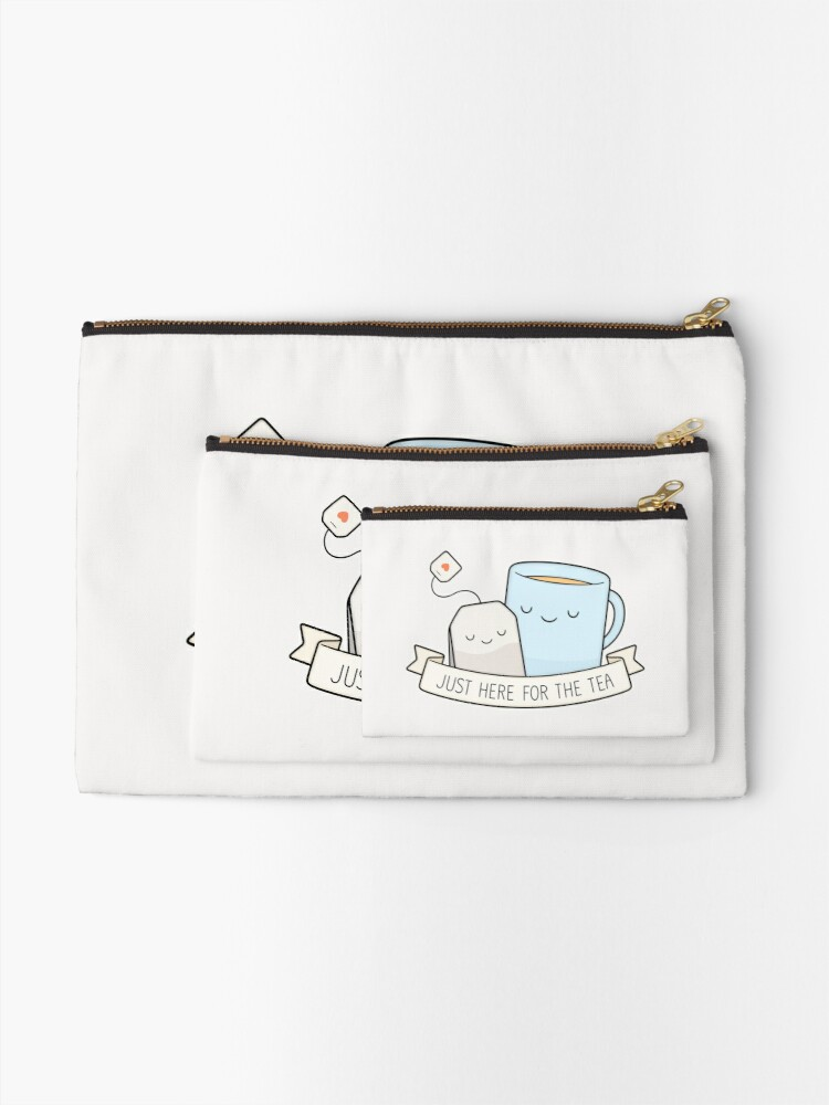 Alternate view of Just Here For The Tea Zipper Pouch