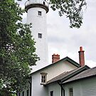 Pointe Aux Barques Lighthouse by Mark Bolen
