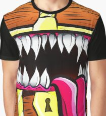Mimic Chest - Dungeons & Dragons Monster Loot Graphic T-Shirt