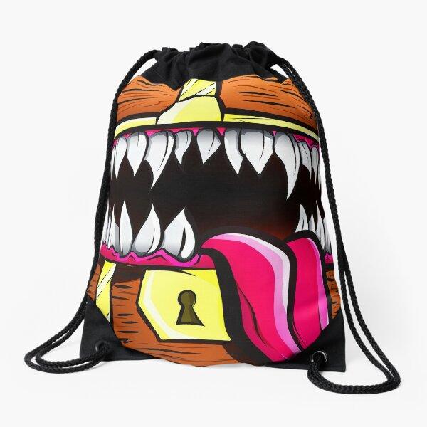 Mimic Chest - Dungeons & Dragons Monster Loot Drawstring Bag