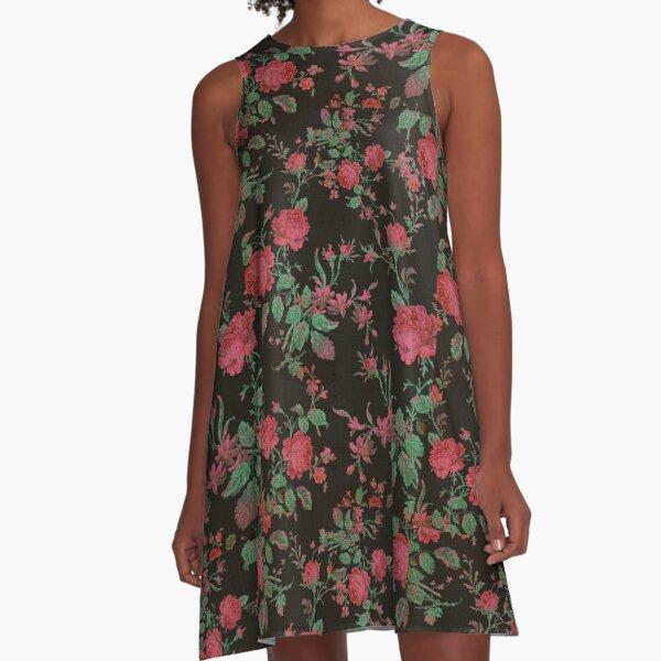 Floral love,design by hyndussidart.com,pattern,stylish,also beautifull A-Line Dress