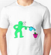 Water Ya Plants - Green T-Shirt