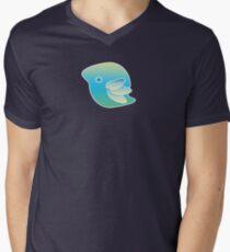 Blue Bird of Happiness Men's V-Neck T-Shirt