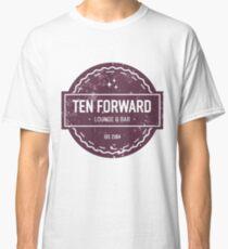 Ten Forward - Rustic Logo Design Classic T-Shirt
