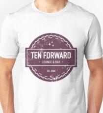 Ten Forward - Rustic Logo Design Unisex T-Shirt