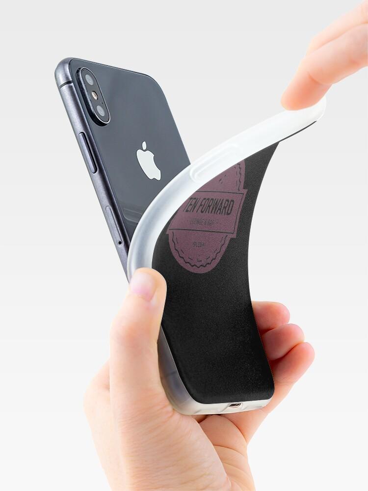 Alternative Ansicht von Zehn Vorwärts - Rustikales Logo Design iPhone-Hülle & Cover