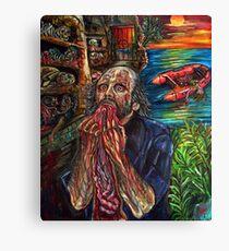 Anthropophagous (the grim reaper) Canvas Print