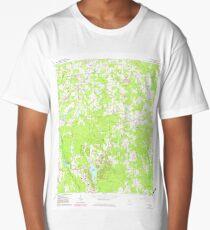 USGS TOPO Map Georgia GA Tyrone 247193 1965 24000 Long T-Shirt