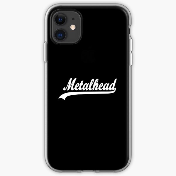 METAL HEAD iPhone Soft Case