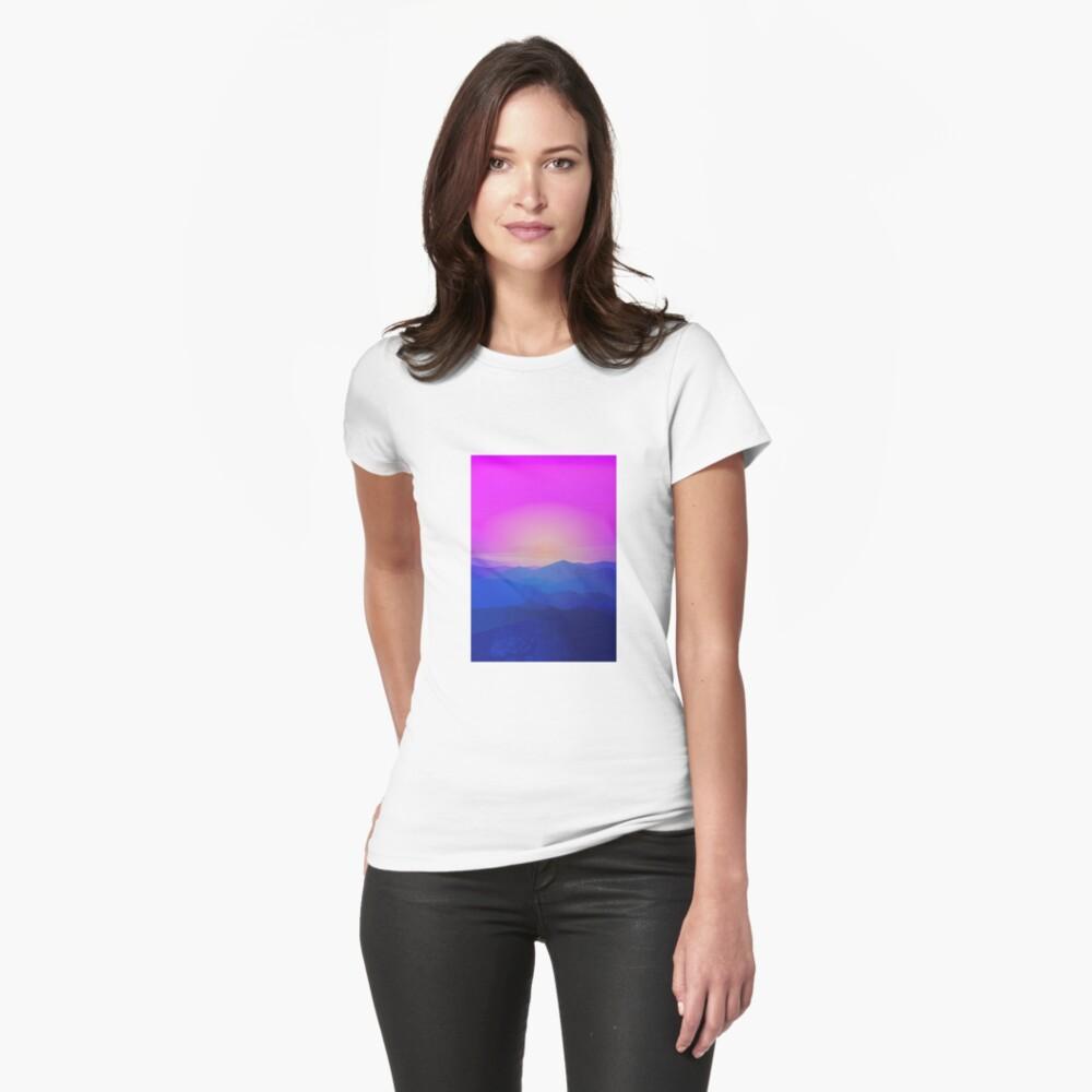 Australia mountains Womens T-Shirt Front