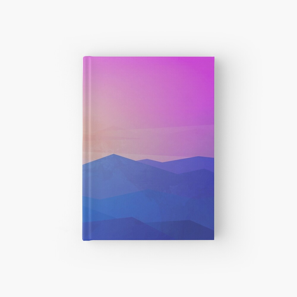 Australia mountains Hardcover Journal