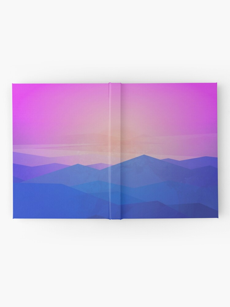 Alternate view of Australia mountains Hardcover Journal