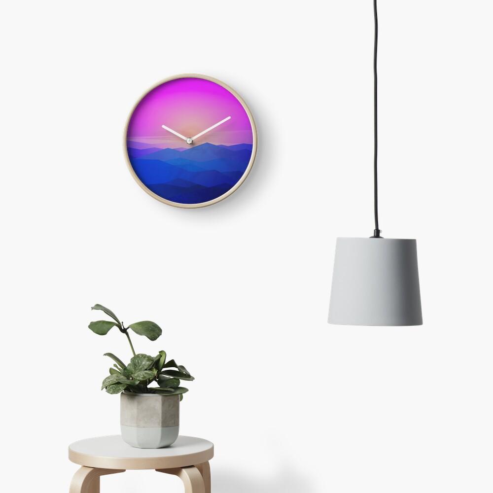 Australia mountains Clock