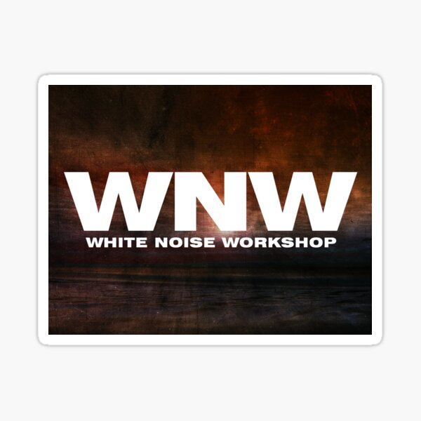White Noise Workshop Sticker