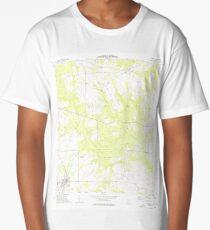 USGS TOPO Map Georgia GA Unadilla 247194 1973 24000 Long T-Shirt