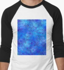 Light and Dark Blue Psychedelic T-Shirt