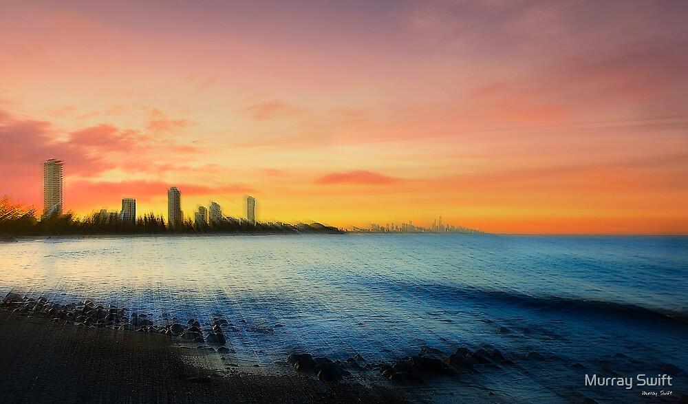 Gold Coast Sunset by Murray Swift