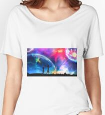 rick and morty vs the universe Women's Relaxed Fit T-Shirt