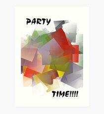 Jiggler Party Art Print