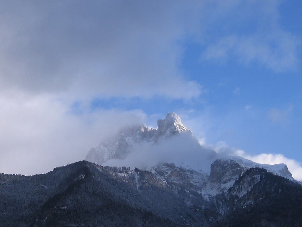 Mont Blanc by Dianne Rini