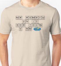 HoW WONdErFuL LiFe IS Slim Fit T-Shirt