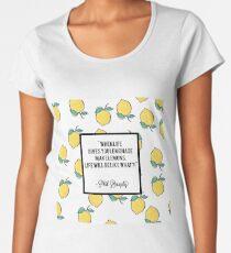 Quote ~ funny Women's Premium T-Shirt