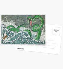 Postales Dragón de las profundidades