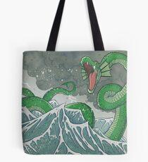 Dragon of the Deep Tote Bag