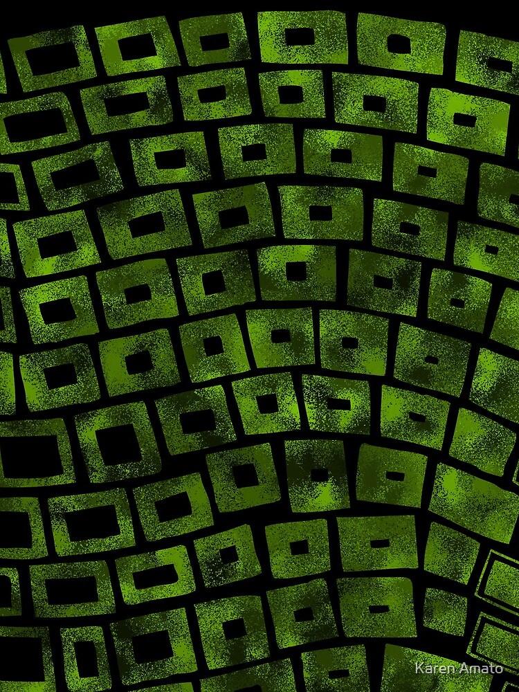 Green Wave by karenamato