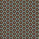 Honeycomb pattern by Silvia Ganora