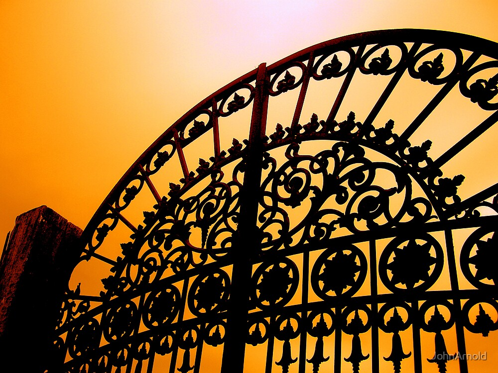 Sunset Gate by JohnArnold