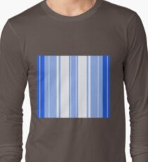 Strips - blue and white. T-Shirt