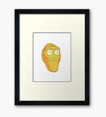 Show Me What You Got - Rick and Morty Framed Print