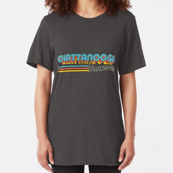 Chattanooga, TN | City Stripes Slim Fit T-Shirt